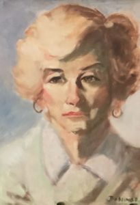 Self portrait of Florence Beddingfield